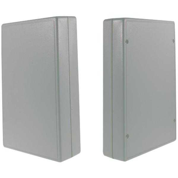 Strapubox Kunststoff-Gehäuse 2007 ABS 186 x 123 x 41 mm, grau
