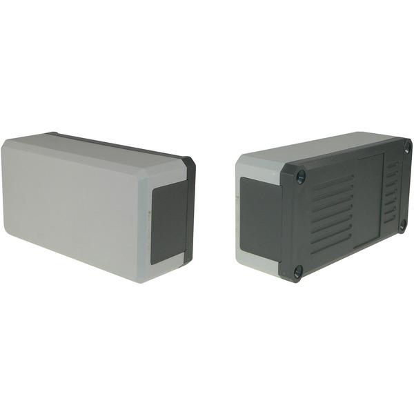 Strapubox Kunststoff-Gehäuse KG 100 ABS 124 x 72 x 30 mm, grau