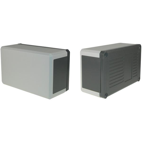 Strapubox Kunststoff-Gehäuse KG 200 ABS 138 x 84 x 58 mm, grau