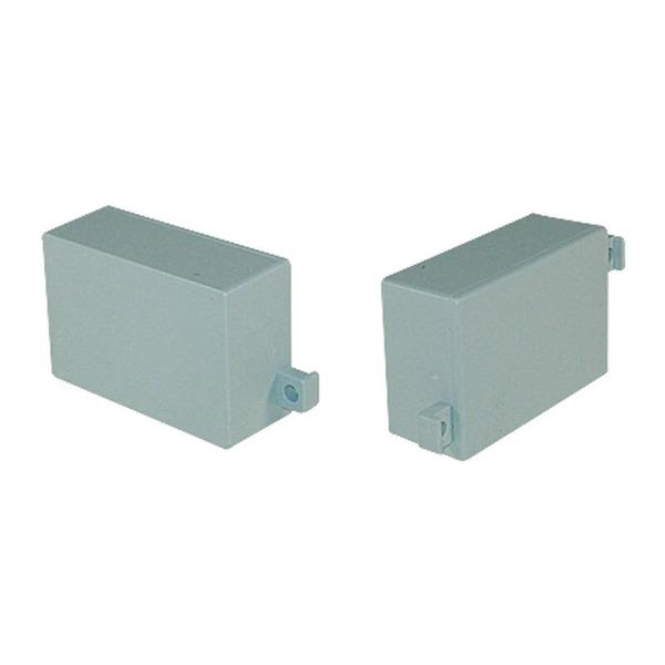 Strapubox Kunststoff-Gehäuse mit Lasche MG 308 ABS 45 x 30 x 17,5 mm, grau