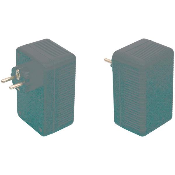 Strapubox Stecker-Gehäuse SG 321 ABS 112 x 68 x 53 mm, schwarz