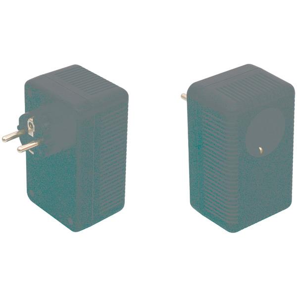 Strapubox Stecker-Gehäuse SG 322B ABS 112 x 68 x 73 mm, schwarz