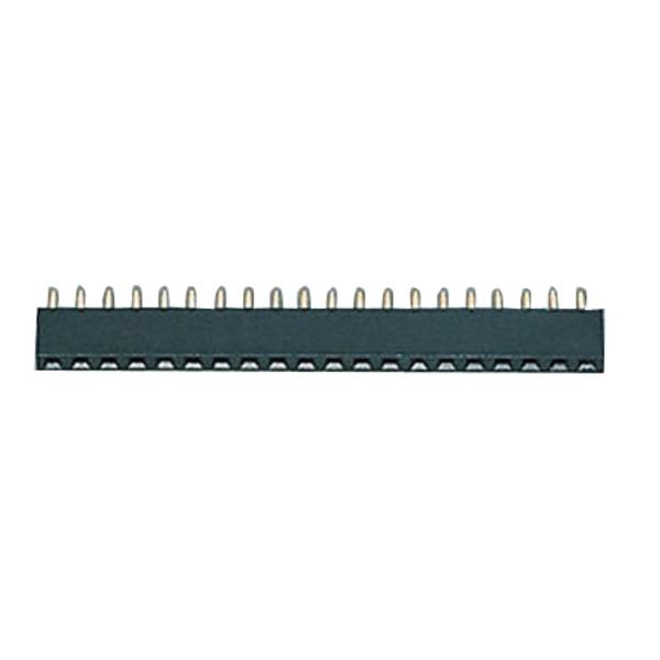 Buchsenleiste, 1x 64-polig, Körperhöhe 4,2 mm, gerade, trennbar, gedrehte Kontakte