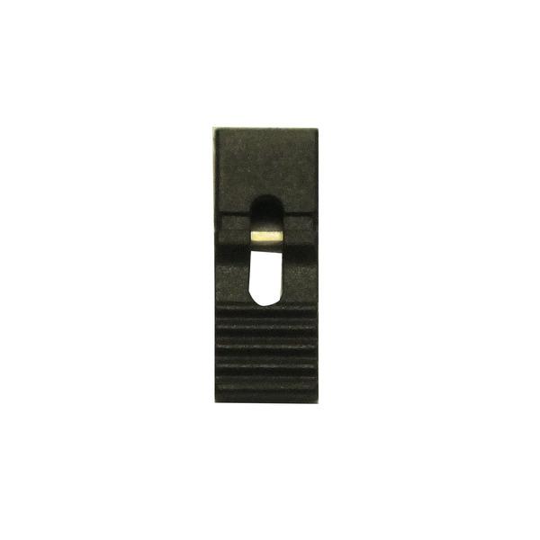 Jumper 13,5 mm, schwarz, RM 2,45