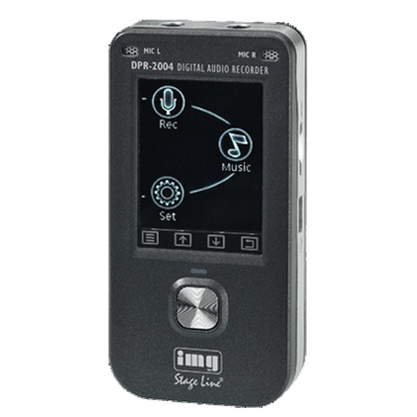 Portabler digitaler Audio Recorder DPR-2004
