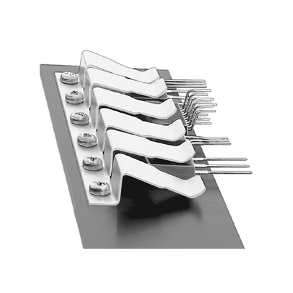 Transistorhaltefeder THFM 2 für 2 x Halbleiter