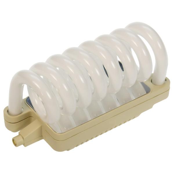 Heitronic 24-W-Energiesparlampe Spiral R7s, warmweiß