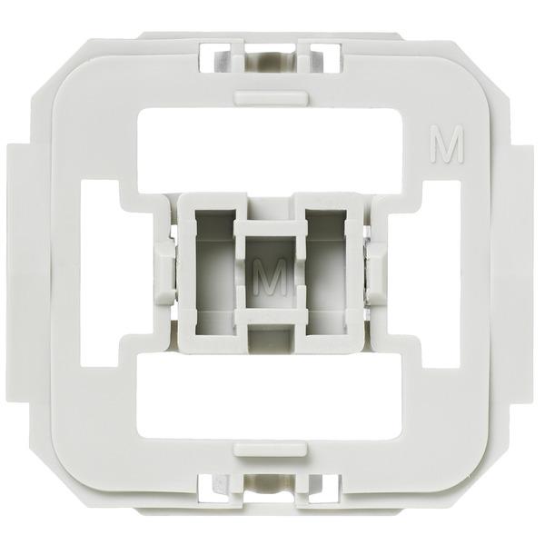 103093 Installationsadapter für Merten-Schalter, 3er-Set für Smart Home / Hausautomation