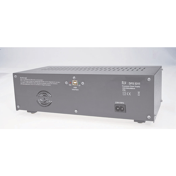 ELV Dual-Power-Supply DPS 5315, Komplettbausatz