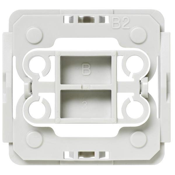 Installationsadapter für Berker-Schalter, 3er-Set für Smart Home / Hausautomation