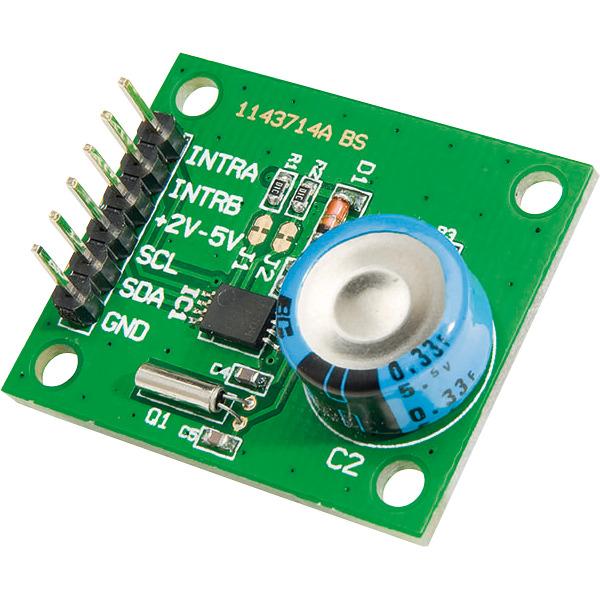 ELV Komplettbausatz I²C-Realtime-Clock I2C-RTC, ohne Buchsenleisten