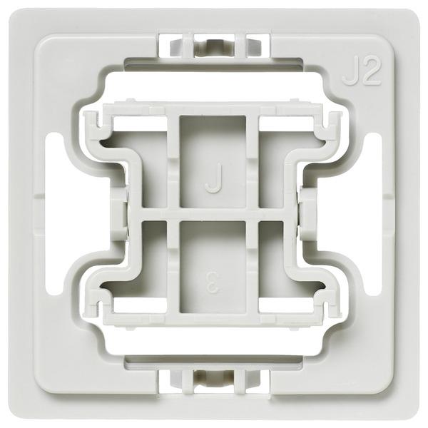 Installationsadapter für Jung-Schalter, J2, 3er-Set für Smart Home / Hausautomation