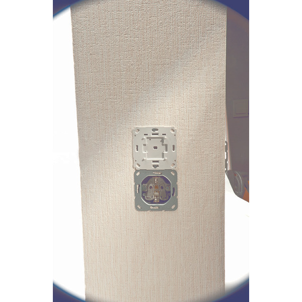ELV Homematic Komplettbausatz Funk-Rollladenaktor für Markenschalter, 1fach UP-Montage HM-LC-Bl1PBU-