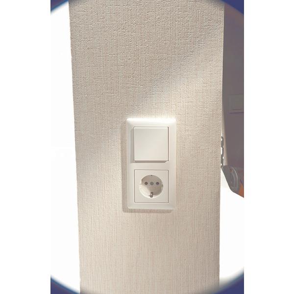 ELV Homematic Komplettbausatz Funk-Rollladenaktor für Markenschalter, 1fach HM-LC-Bl1PBU-FM