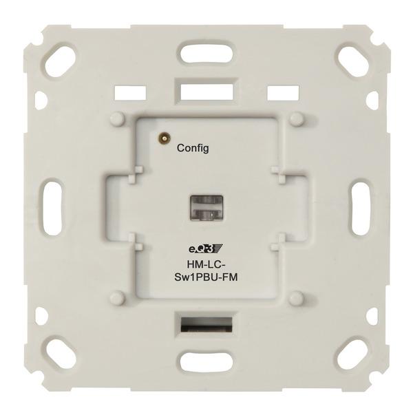 ELV Homematic Komplettbausatz Funk-Schaltaktor für Markenschalter, 1fach Unterputzmontage HM-LC-Sw1P