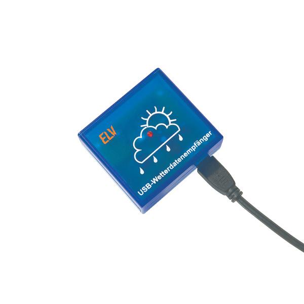 ELV USB-Wetterdaten-Empfänger USB-WDE1-2