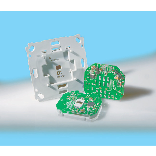 Komplettbausatz Unterputz-Schalter mit Timerfunktion ST55UP
