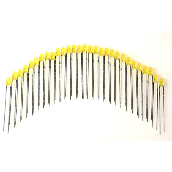 ELV LED-Set mit 29 LEDs, gelb, 3 mm