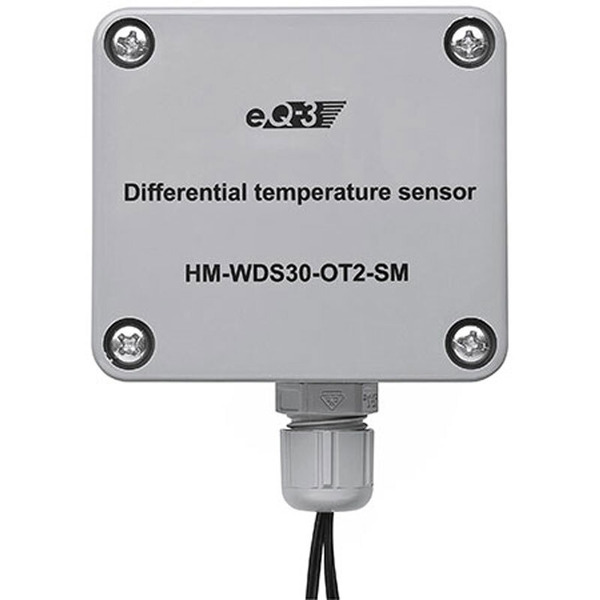 ELV Homematic Komplettbausatz Differenz-Temperatur-Sensor HM-WDS30-OT2-SM, für Smart Home / Hausauto