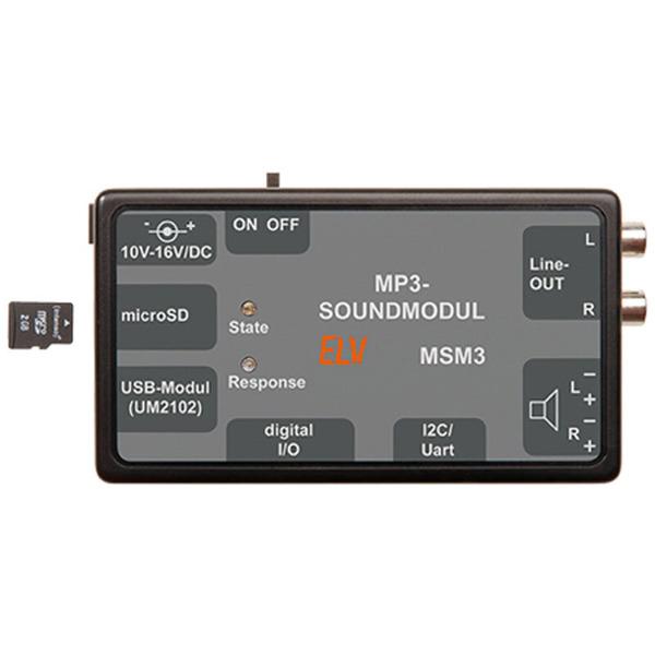 ELV MP3-Soundmodul MSM3, Komplettbausatz