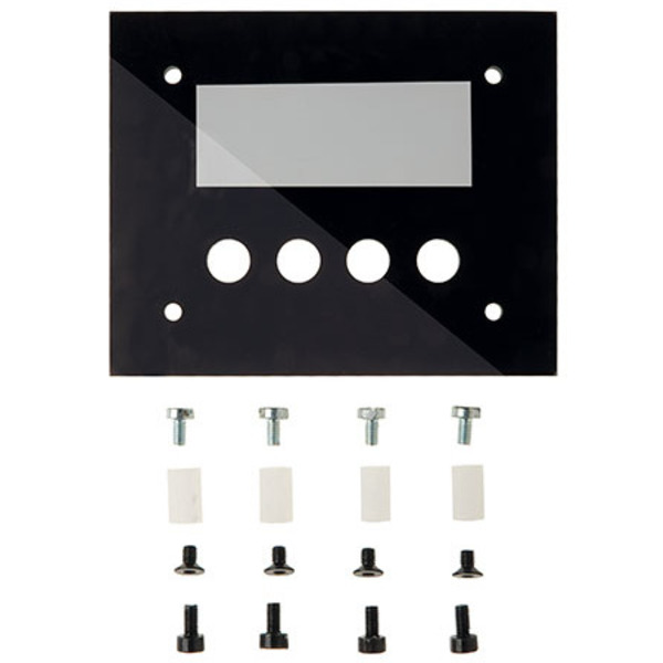 Frontplatte mit Tastenfeld für I2C-4DLED
