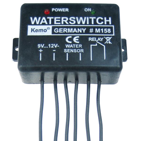 Kemo M158 9- bis 12-V-Wassermelder