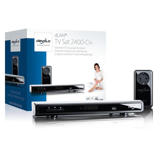 devolo dLAN® TV Sat 2400-CI+