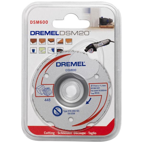 Dremel DSM 600 Mehrzweck-Gerad-Karbidtrennscheibe