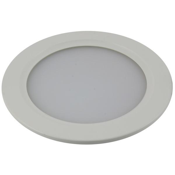 Heitronic LED-Panel, 9,6 W, rund, warmweiß