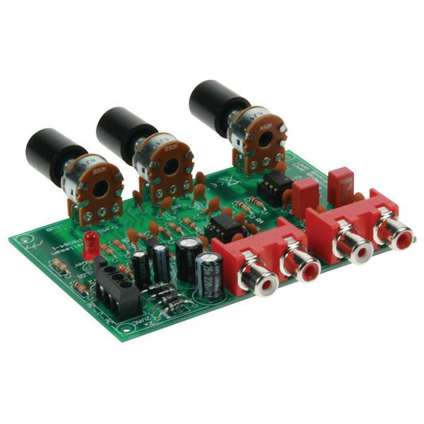 Velleman K8084 Vorverstärker Lautstärke- und Klangregelung, Bausatz