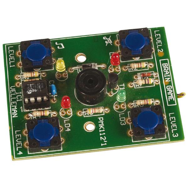 Velleman Bausatz Brain Game Elektronisches Spiel MK159