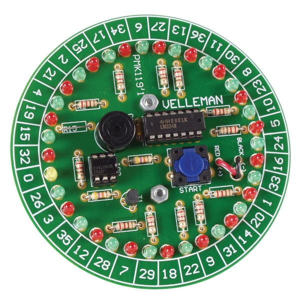 Velleman Bausatz Roulette MK119