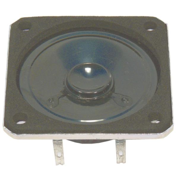 VISATON Kleinlautsprecher mit Kunststoffmembran und quadratischem Metallkorb 5 cm, K 50 SQ / 8 Ω