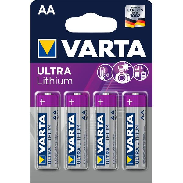 VARTA ULTRA LITHIUM AA Blister 4