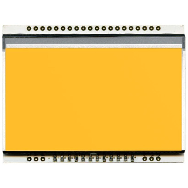 Electronic Assembly LCD-Backlight amber EA LED68x51-A