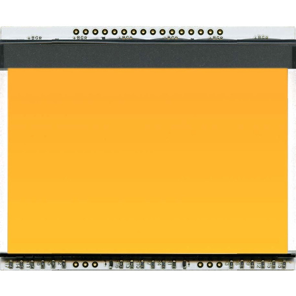 Electronic Assembly LCD-Backlight amber EA LED78x64-A