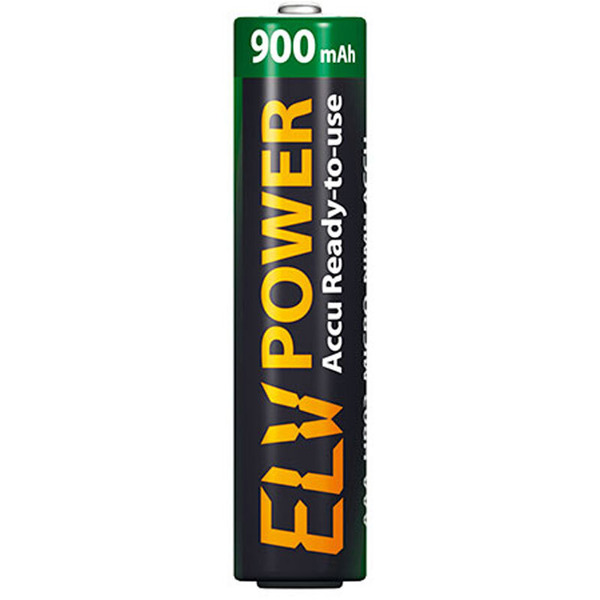 ELV Power Accu Ready-to-Use Micro, 900 mAh, 2er Pack