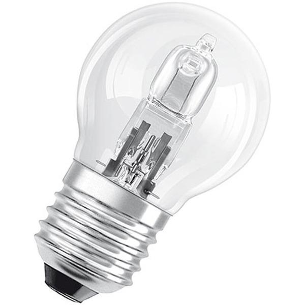 OSRAM Classic Superstar P 20-W-E27-Halogenlampe, Tropfenform, 230 V