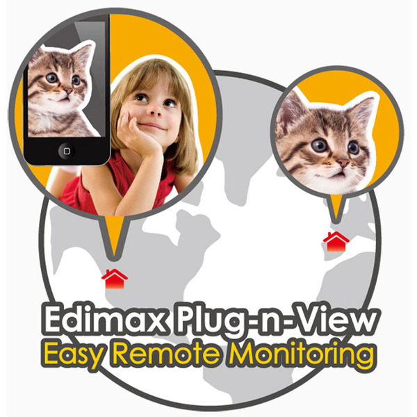 EDIMAX LAN-Netzwerkkamera IC-3100