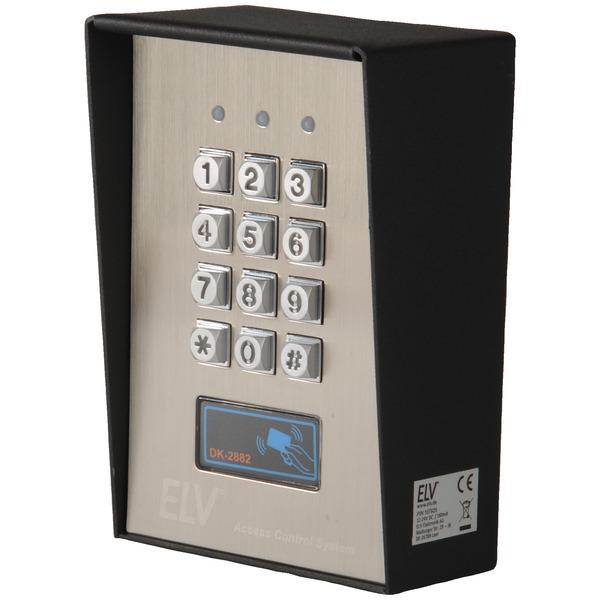 ELV Vandalismusgeschütztes Codeschloss DK-2882 mit RFID-Card-Reader