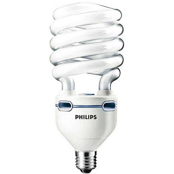 Philips Tornado High Lumen, 60-W-Energiesparlampe E27, warmweiß