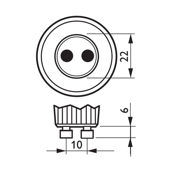 Philips 4-W-GU10-LED-Strahler 36°, warmweiß
