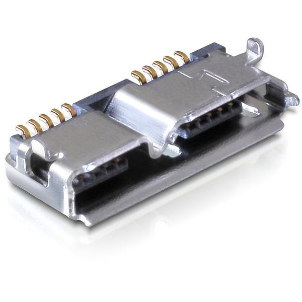 Delock Steckverbinder USB 3.0 micro-B Einbaubuchse