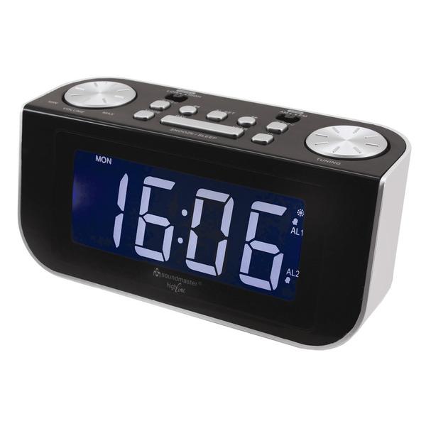 soundmaster FUR 4000 Funk-Uhrenradio mit Jumbo-Display