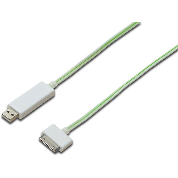 Apple Dock Lade-/Datenkabel, Apple 30pin - USB A