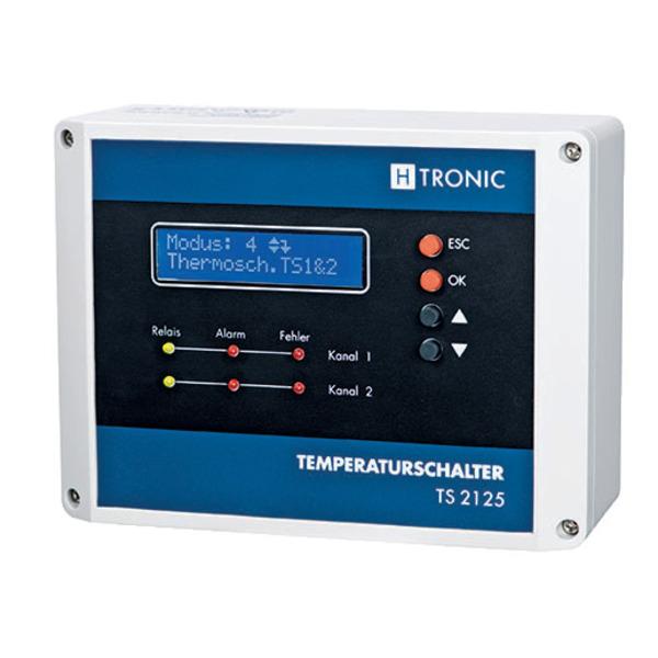 H-Tronic TS 2125 2-Kanal-Temperaturschalter
