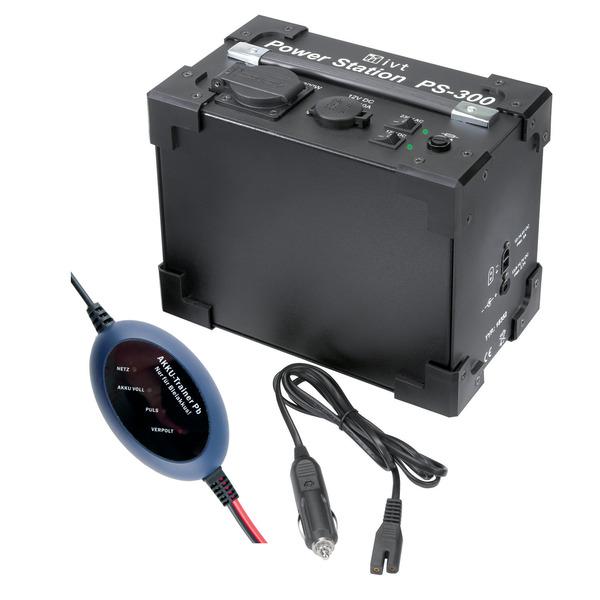 IVT Power Station PS-300 mit integriertem Sinus Wechselrichter