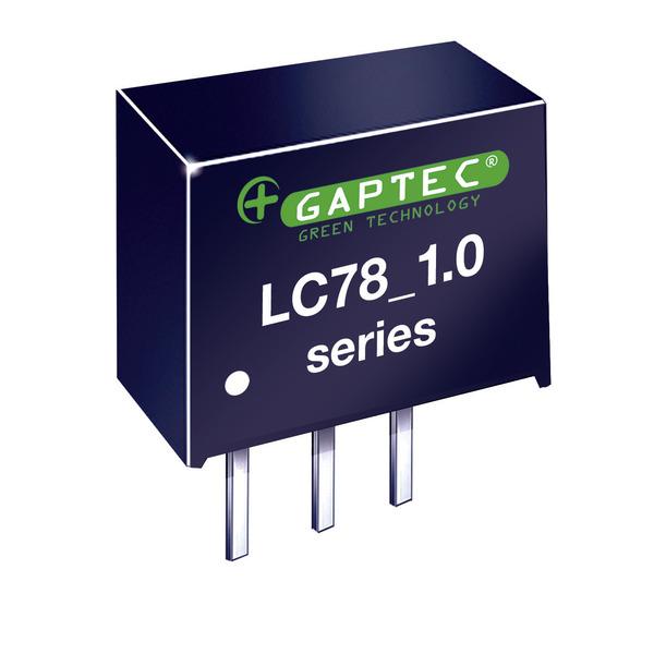 GAPTEC DC-DC-Wandler (Pol) 5V / 1,0A - Serie LC78_1.0A - Eingangsspannung 6,5 V bis 42 V