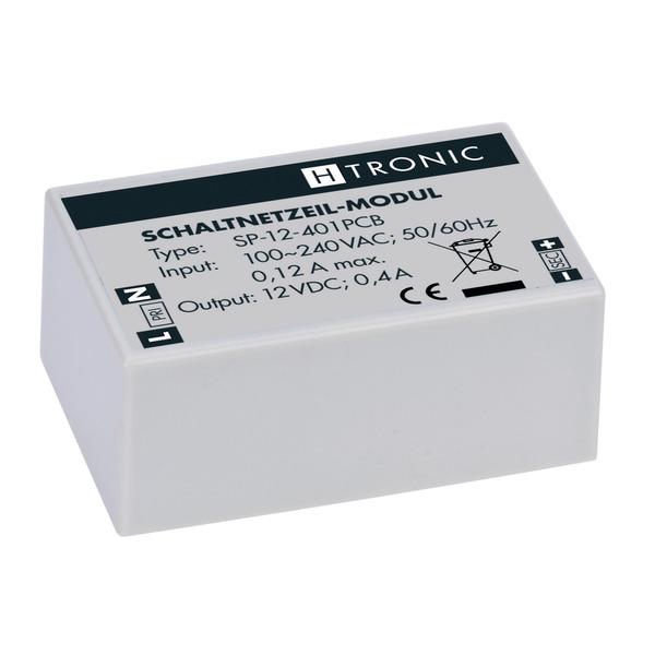 H-Tronic Schaltnetzteil-Modul SP-12-401PCB, 12 V, 400 mA für Leiterplatte