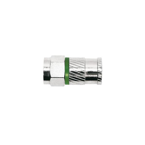 Axing CFS 93-48 Opti-Fix Self-Install-Compression-Stecker, für Dielektrikumsdurchmesser 4,8 mm